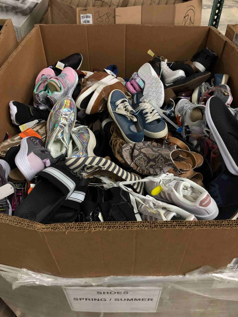 spring summer Shoes truckload liquidation