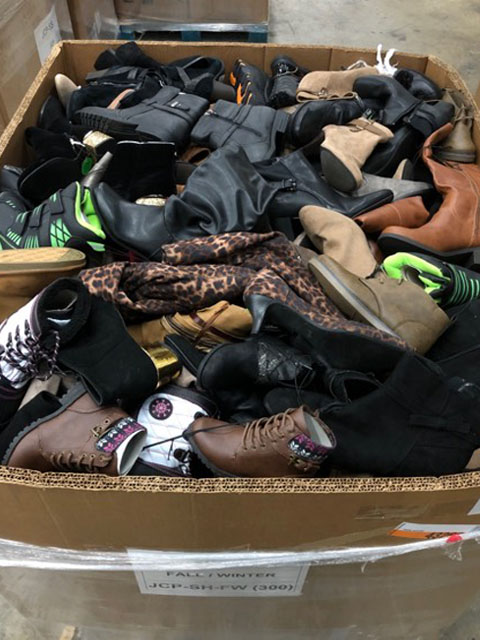 Fall Winter Shoes truckload liquidation