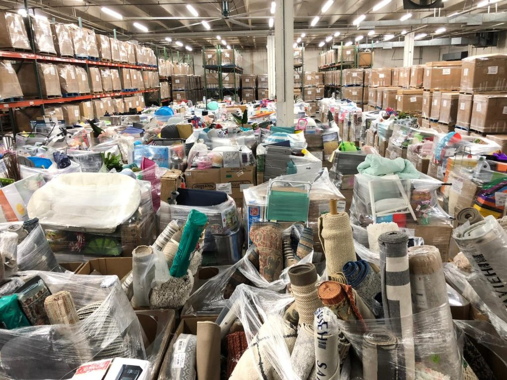 General Merchandise Truckload Liquidations area rugs