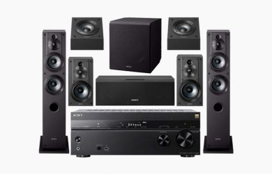 Home Theater Systems pallets of liquidation electronics