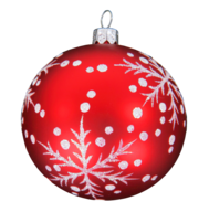 red-white-christmas-ball